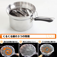 くるくる鍋(うずまき鍋)秘密