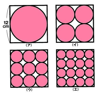 算数と数学の図形問題