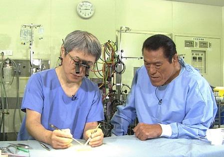 天野篤とアントニオ猪木インタビュー