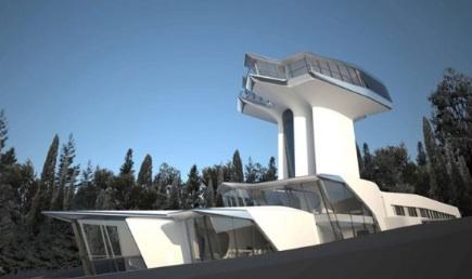 ナオミ・キャンベルの自宅はザハ・ハディドの建築デザイン