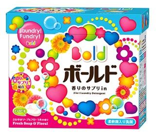 ボールド香りのサプリイン粉末洗剤