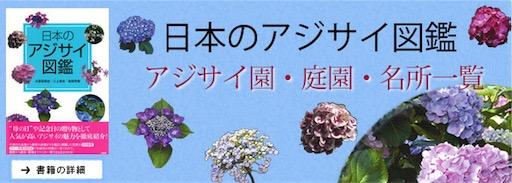 紫陽花(あじさい,アジサイ)図鑑