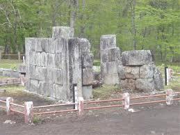 世界遺産の橋野鉄鉱山(橋野高炉跡及び関連遺跡)
