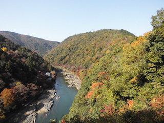 京都の紅葉スポットの癒される美しい景色