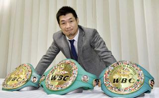 ボクシング3階級制覇の長谷川穂積